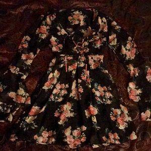 Gypsy Floral Dress